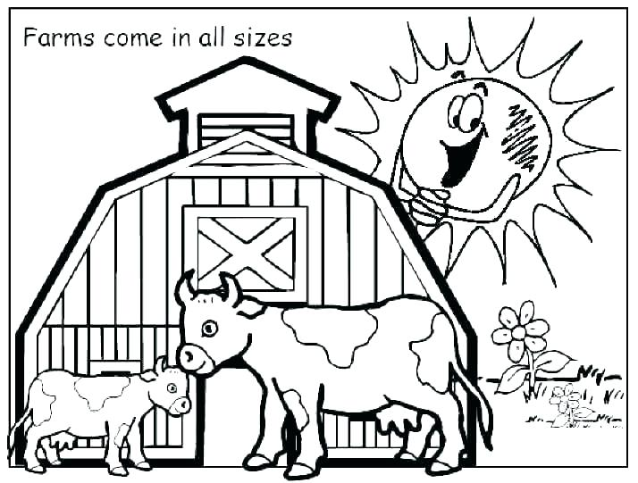 714x541 Ffa Coloring Pages Coloring Pages Farm Animals Coloring Pages