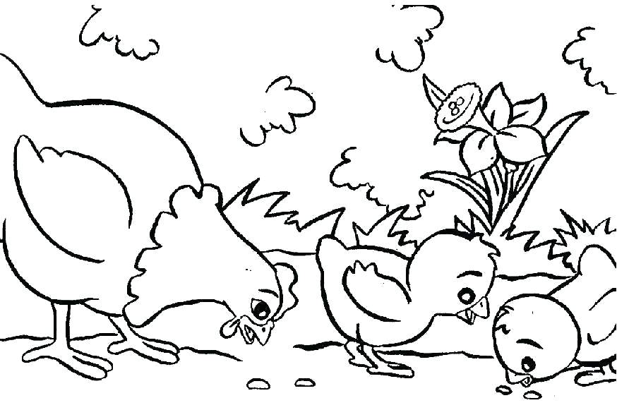 874x581 Free Kids Coloring Pages Kids Coloring Pages Animals Free Coloring