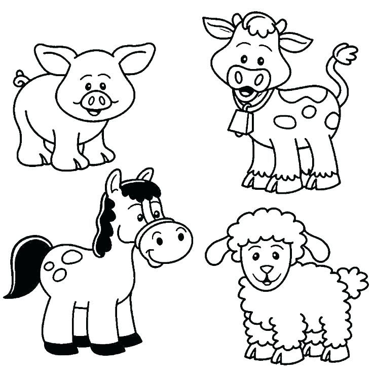 736x735 Print Coloring Pages Animals Pages Animals Adult Coloring Animals