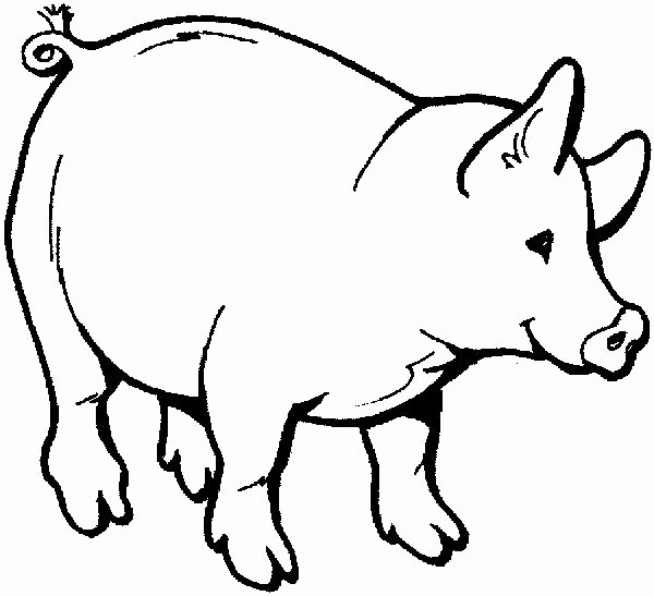 600x547 Farm Animals Coloring Page Lovely Baby Farm Animals Colouring