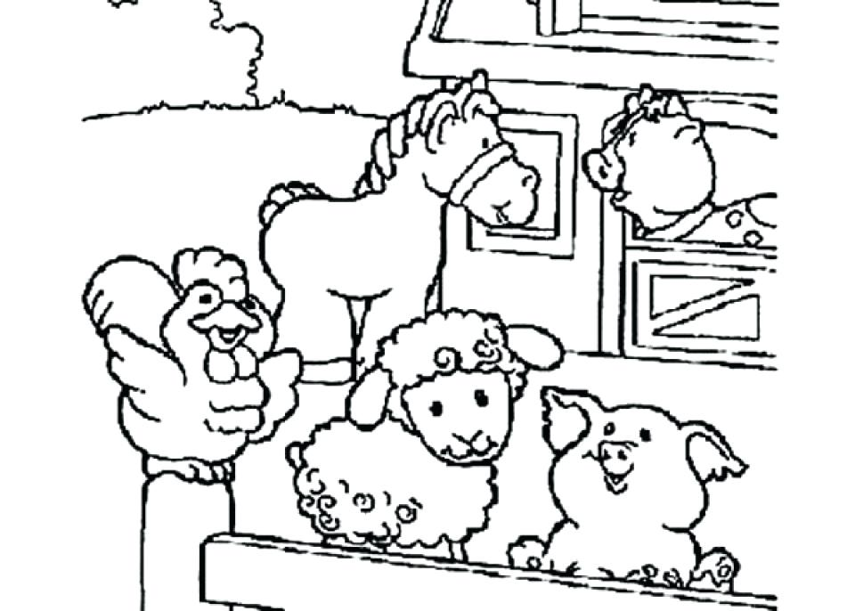960x686 Free Printable Farm Animal Coloring Pages For Kids Colouring Farm