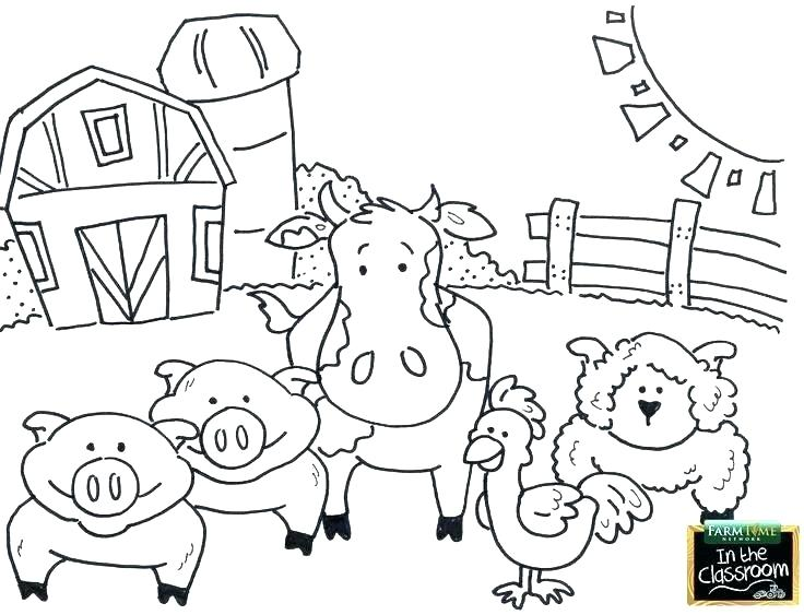736x563 Free Printable Farm Animal Coloring Pages Free Farm Coloring Pages