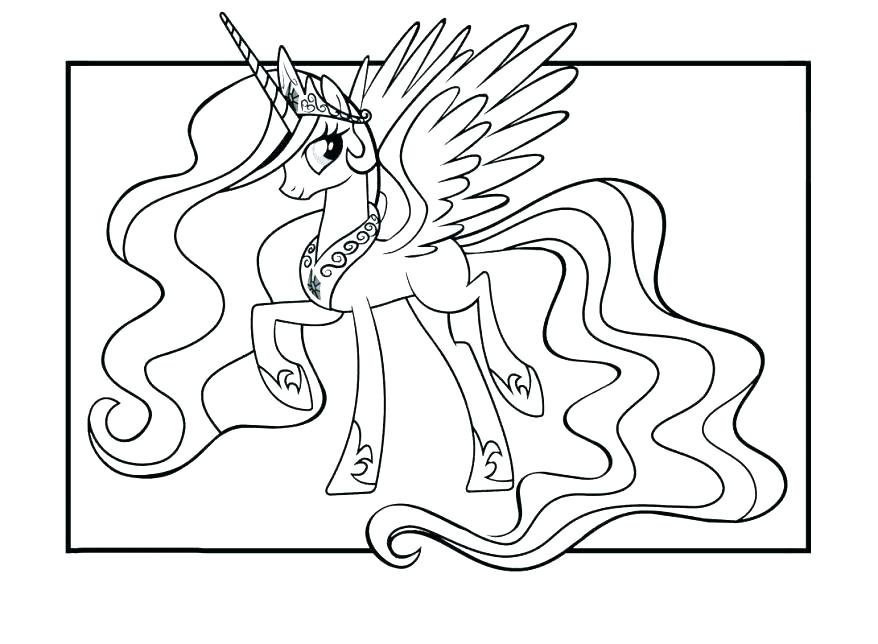 878x644 Mlp Colors Of The Rainbow Kids Coloring My Little Pony Coloring