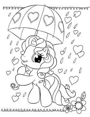290x377 My Little Pony Coloring Pages Printable Coloring Pages