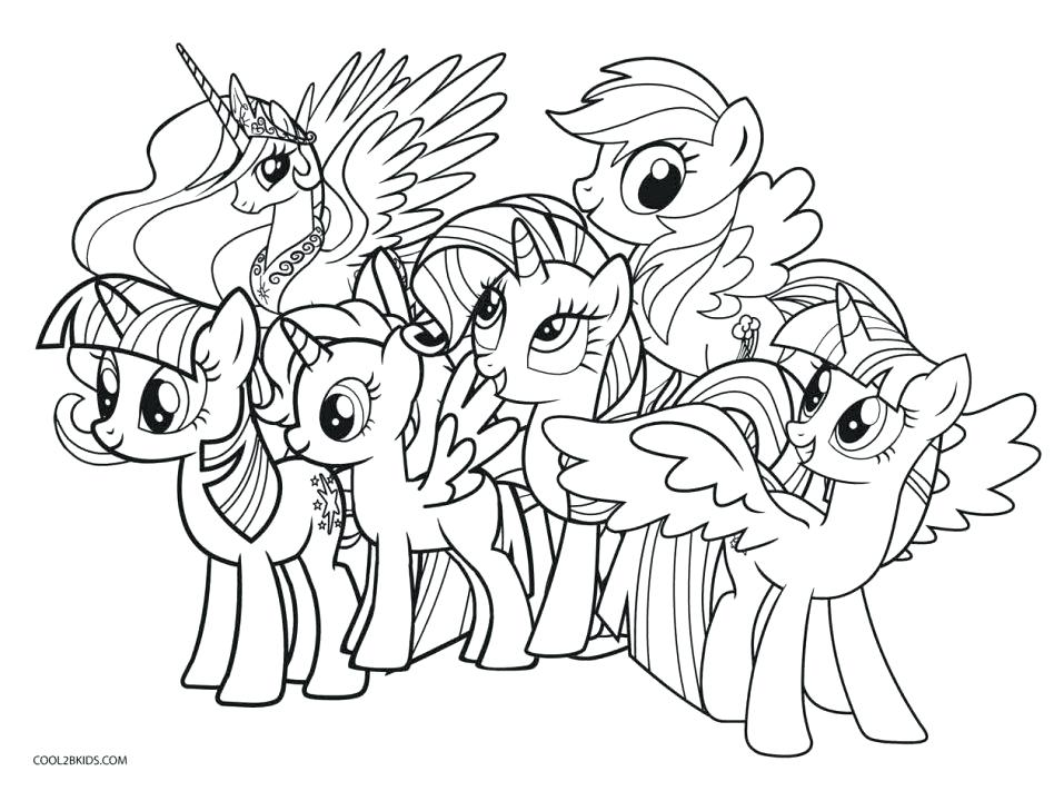 948x711 People Coloring Pages Kids Coloring My Little Pony Coloring Page