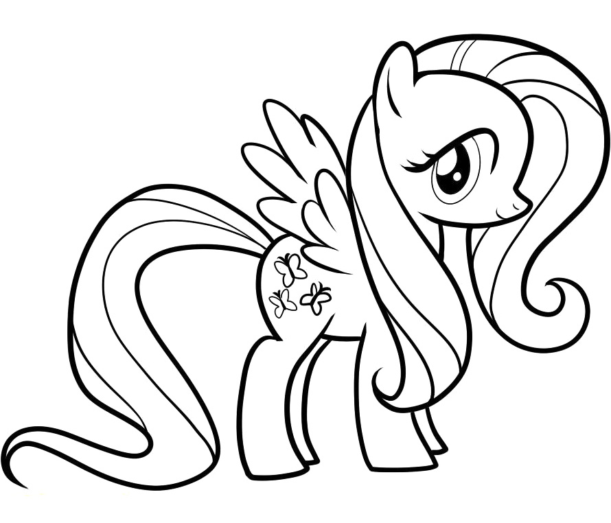 890x762 My Little Pony Coloring Page Free Printable My Little Pony