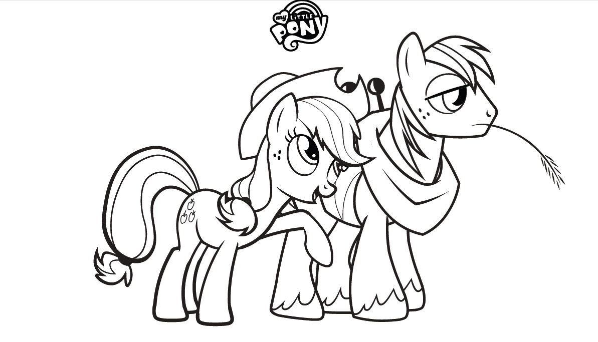 1193x683 For Kids Coloring Pages Of My Little Pony Friendship Is Magic