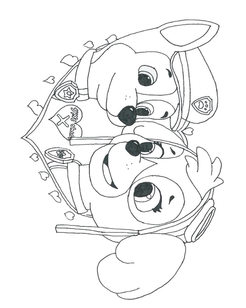 Kids Coloring Pages Paw Patrol
