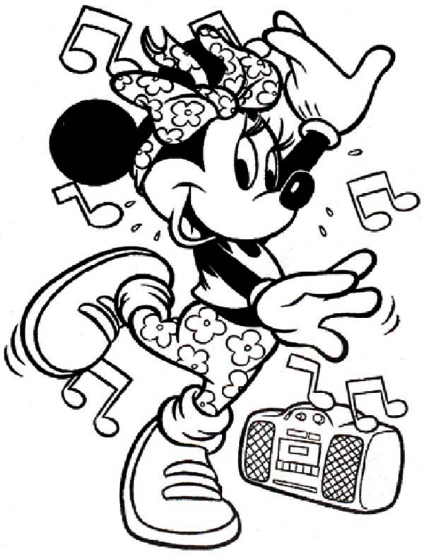 600x788 Dance Coloring Pages For Kids