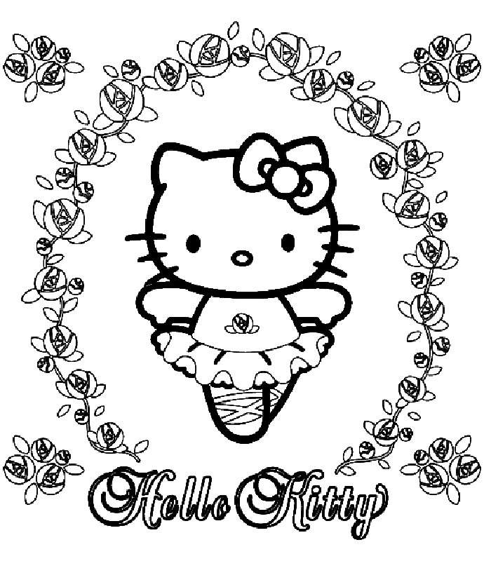 700x800 Ballerina Coloring Page