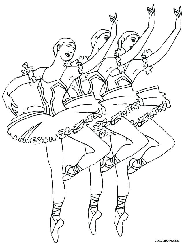638x850 Free Printable Ballerina Coloring Pages