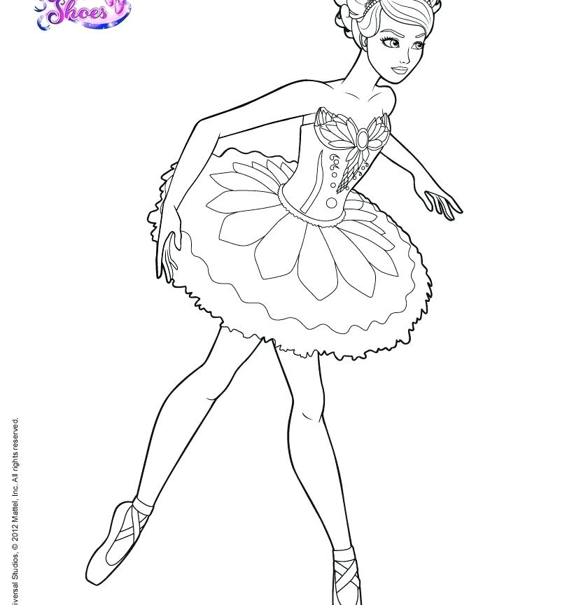 820x864 Ballet Coloring Pages Ballerina Coloring Page Free Printable Pages