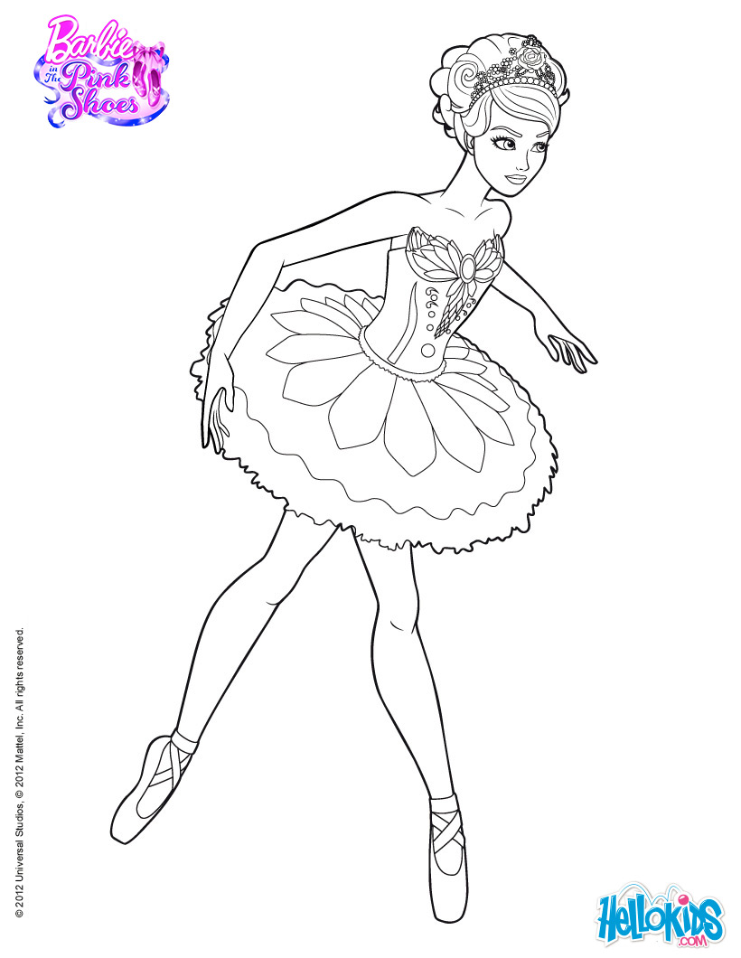 820x1060 Ballerina Coloring Pages