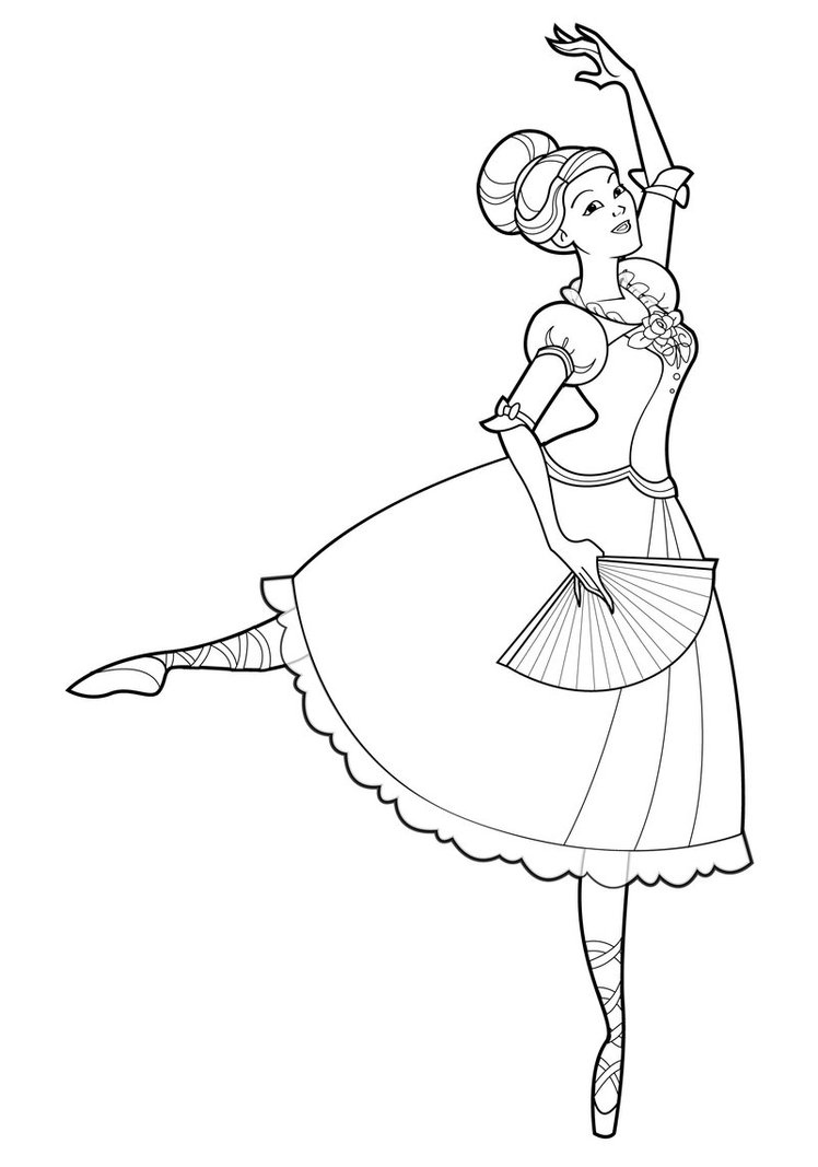 748x1067 Ballerina Coloring Pages Awesome Free Printable Ballet Coloring