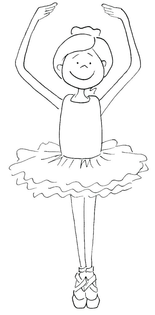 504x1024 Dancer Coloring Pages