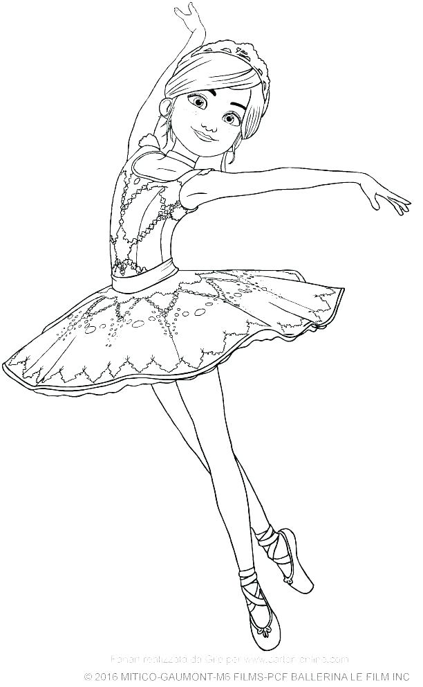 612x992 Ballet Dancer Coloring Pages Barbie Ballerina Coloring Pages