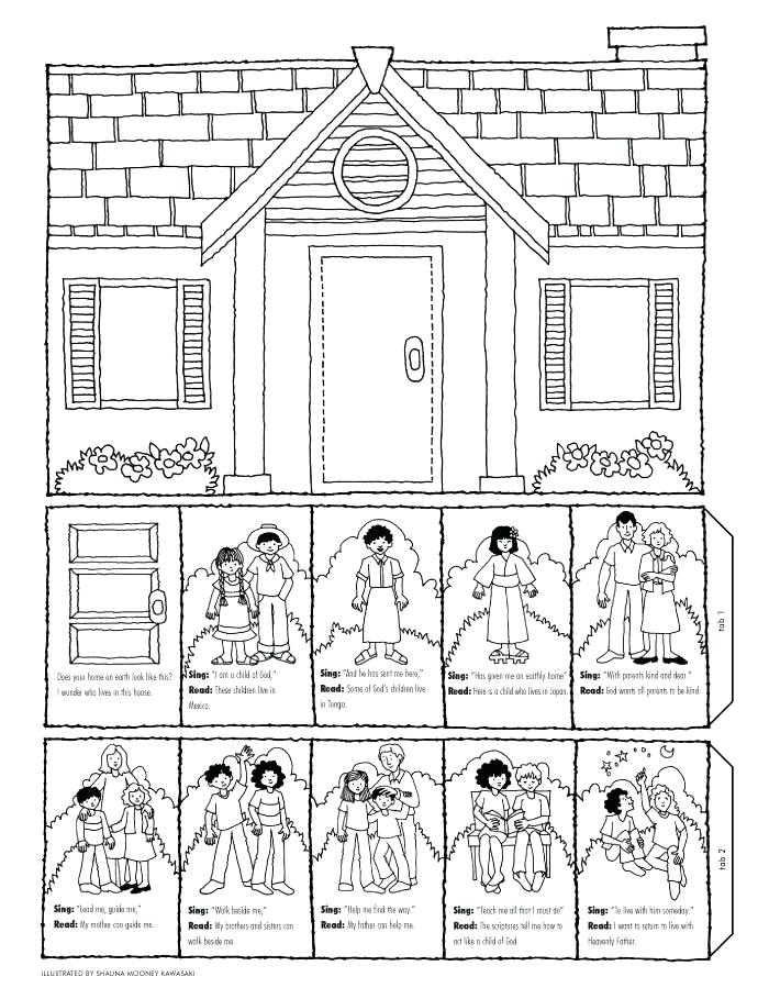 700x909 Coloring Pages Of A House House Coloring Pages Printable Houses
