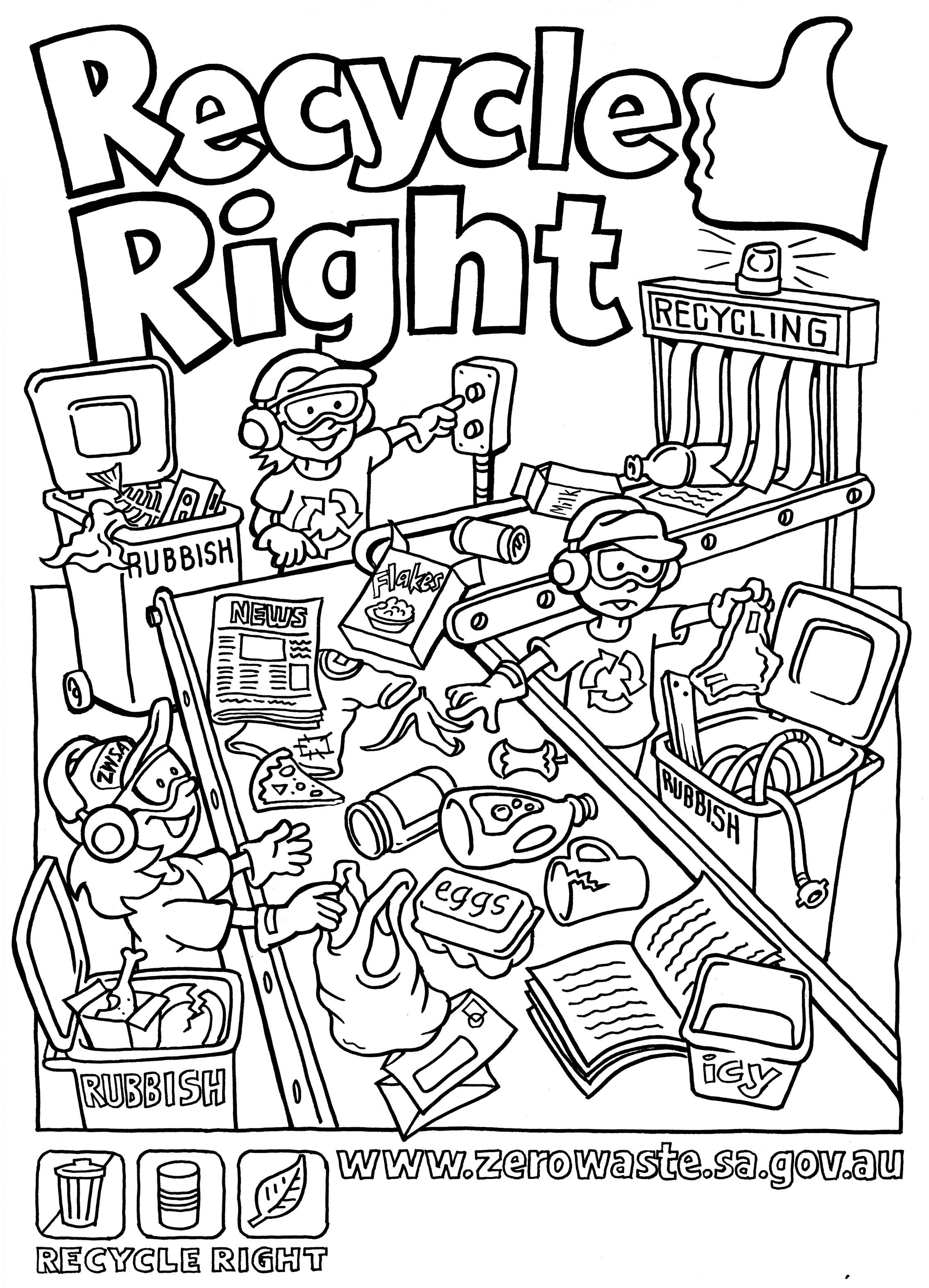 2268x3145 Kids Doing Chores Coloring Pages