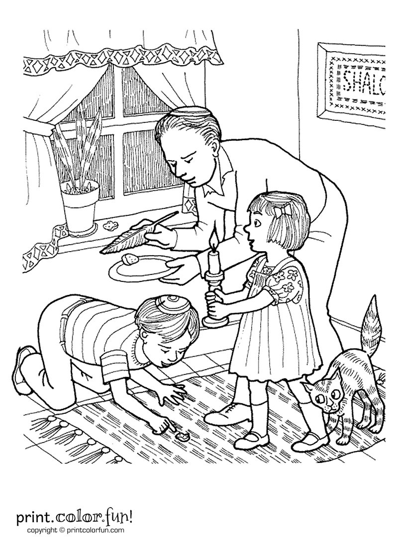 800x1100 Sensational Kids Doing Chores Coloring Pages P
