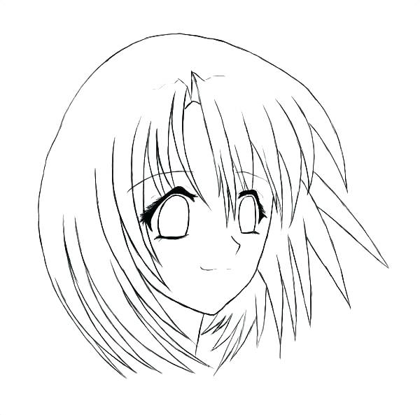 600x593 Girl Face Coloring Page Face Coloring Pages For Girls Female Face
