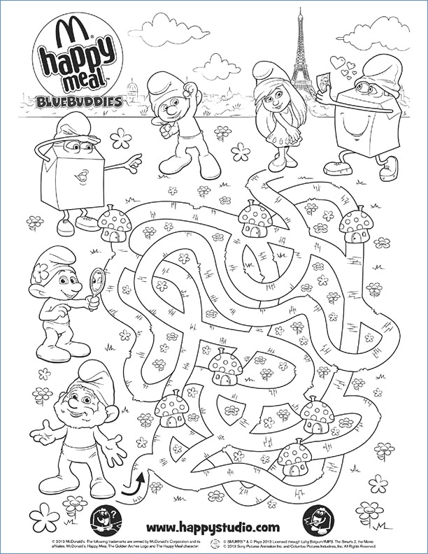 612x792 Hello Kitty Reading Mail Coloring Page