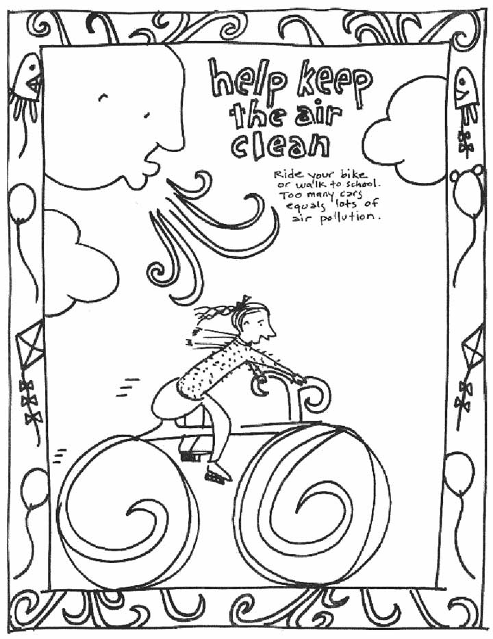720x933 Pollution Coloring Pages For Kids Printable Coloring Pages