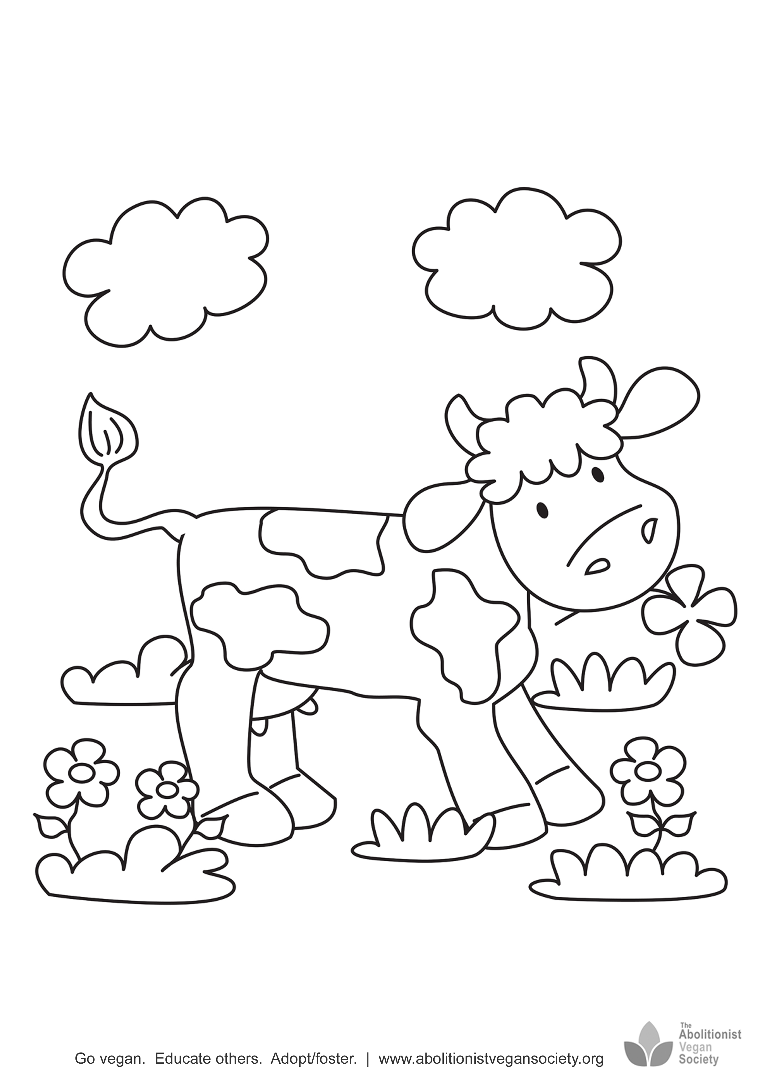 2480x3508 Coloring Pages For Children Abolitionist Vegan Society