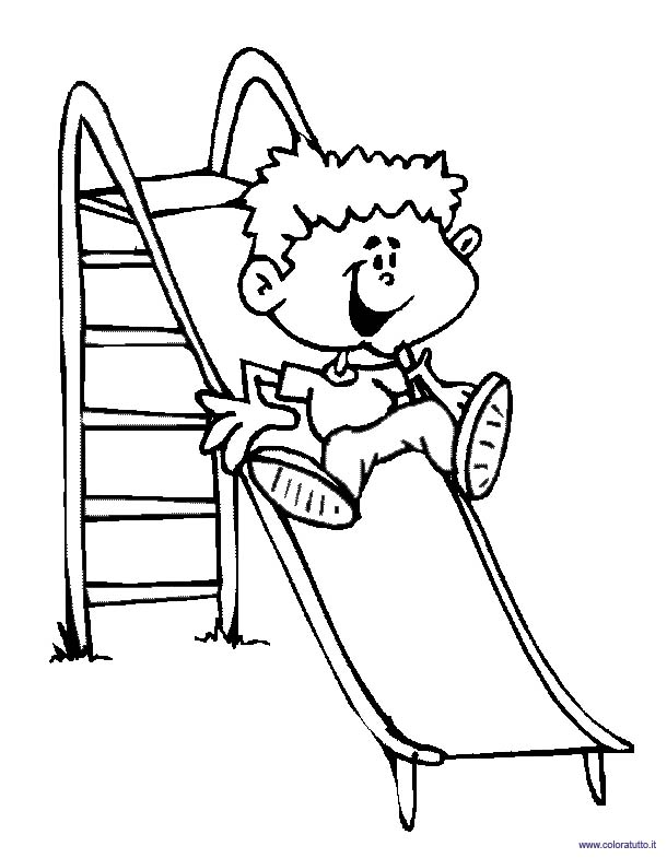 610x785 Coloring Pages Children Who Play