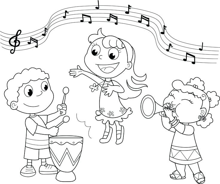 736x615 Music Coloring Page Coloring Pages Musical Instruments Musical