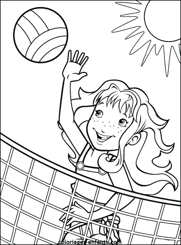 630x850 Coloring Page Kids Playing Professional