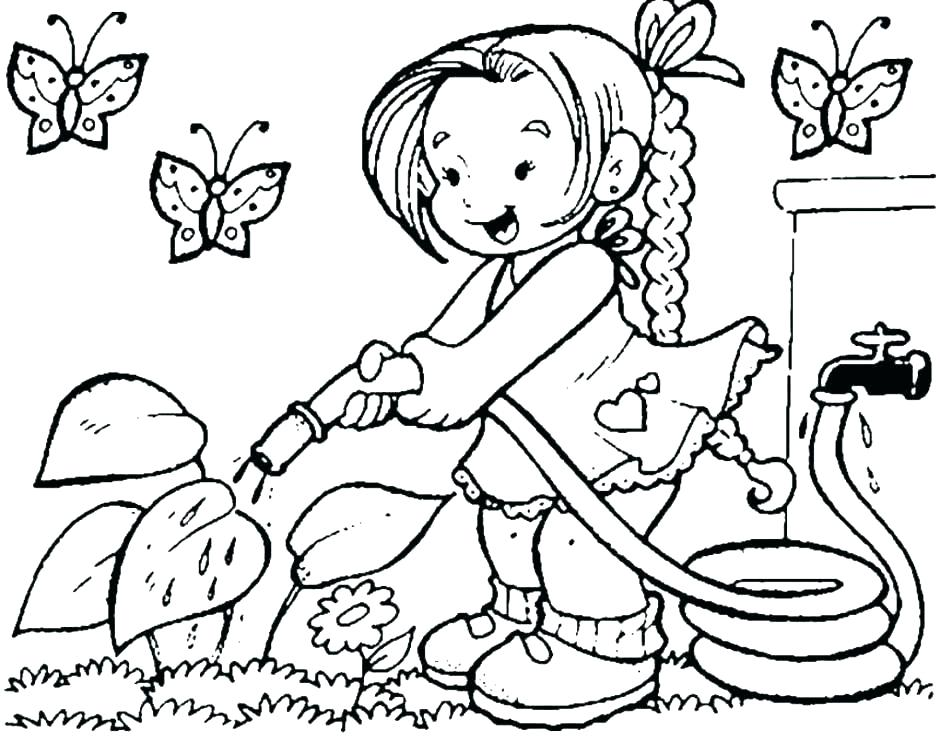 940x743 Ideas Kids Playing Coloring Page Or Manners Pages Disney