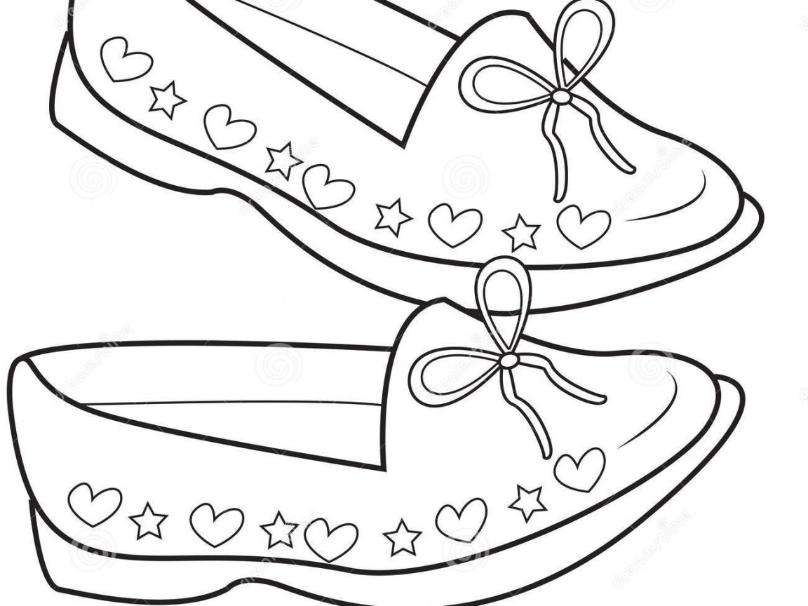 1152x864 Shoes Coloring Pages Coloringsuite Com Throughout Jordan Stunning