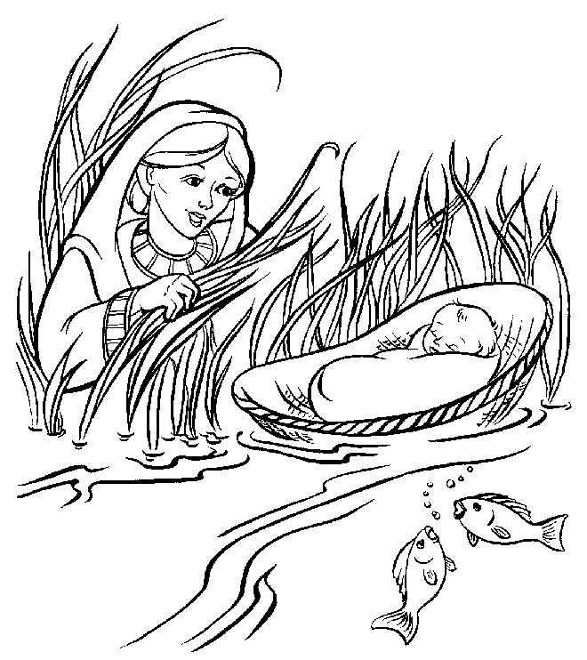 660x742 Baby Moses Coloring Page Fresh Dcfi Line Kidzone Coloring Pages