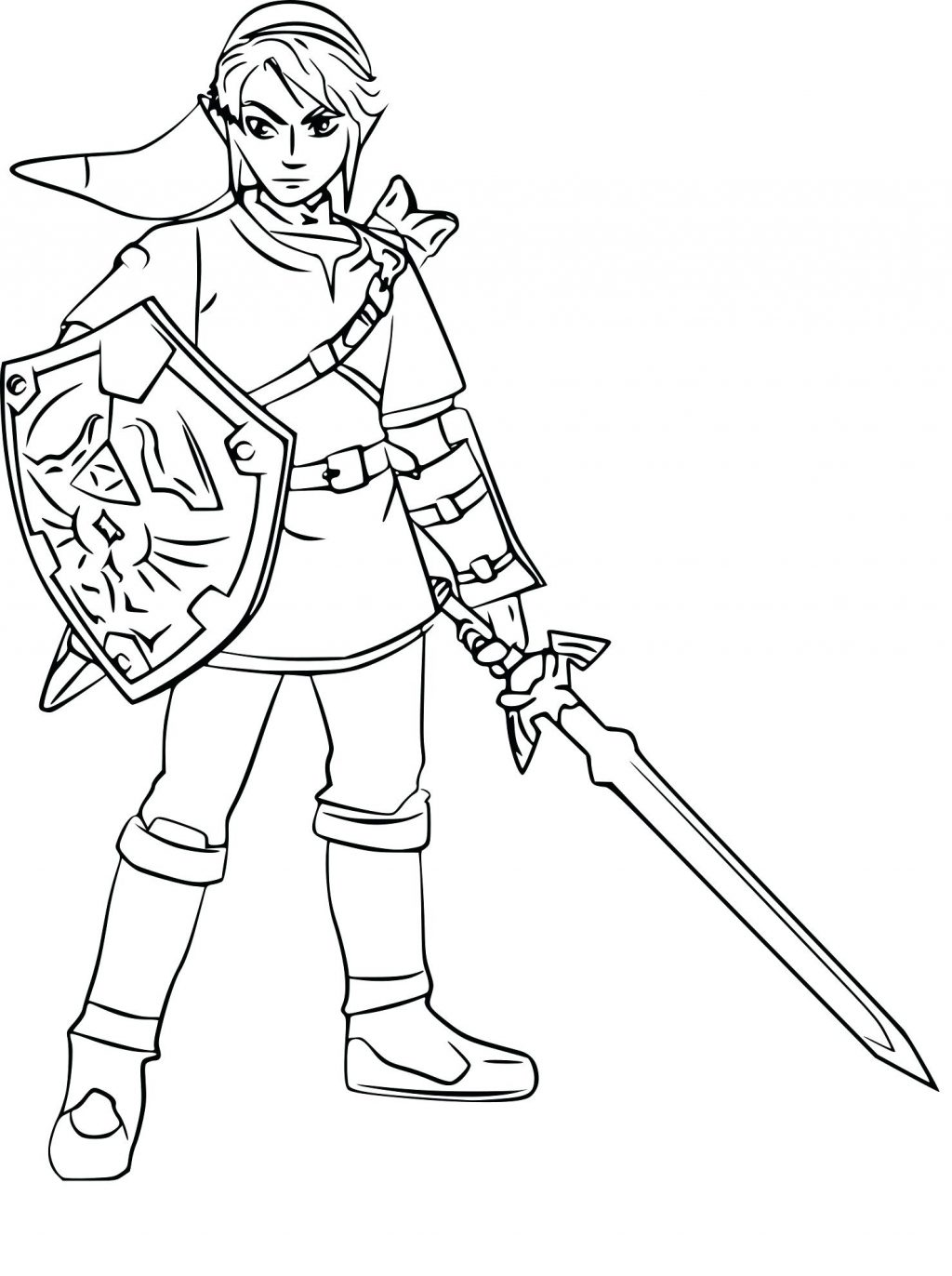 1024x1372 Coloring Page Kim Possible Coloring Pages The Legend Of Link Kim