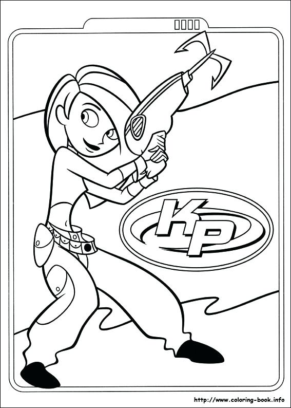 567x794 Kim Possible Coloring Pages Possible Coloring Picture Kim Possible