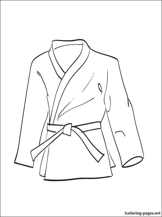 560x750 Kimono Coloring Page For Free Coloring Pages