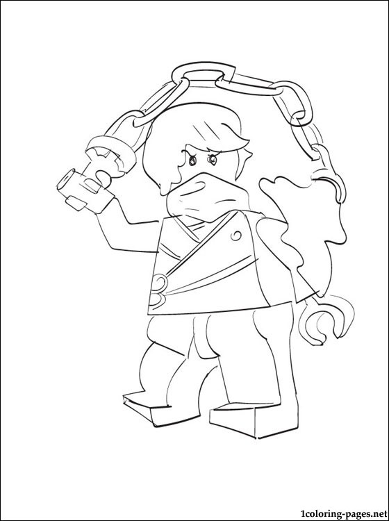 560x750 Ninjago Cole Kx In Kimono Coloring Page H M Coloring Pages
