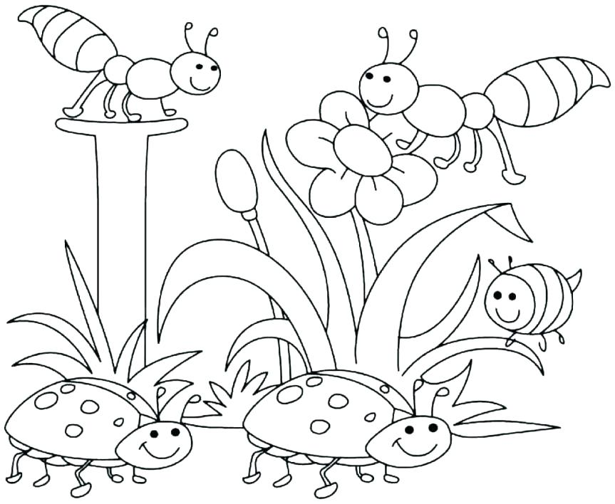 863x708 Free Coloring Pages For Toddlers Coloring Pages For Kindergarten