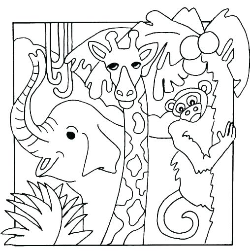 508x509 Animals Coloring Pages For Toddlers Coloring Farm Animal Coloring
