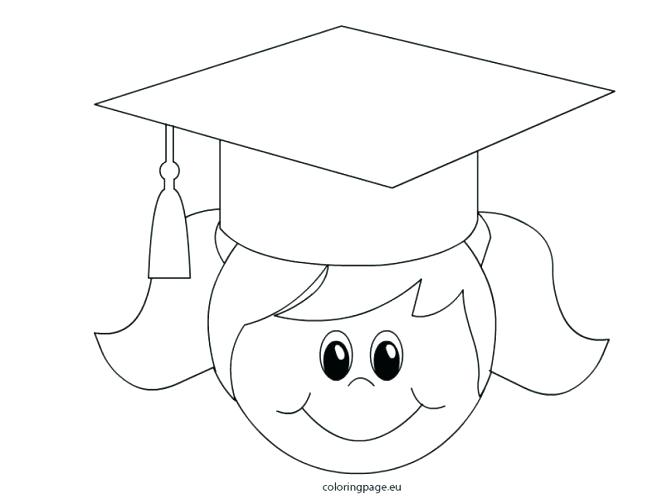 667x500 Graduation Coloring Pages Click To See Printable Version