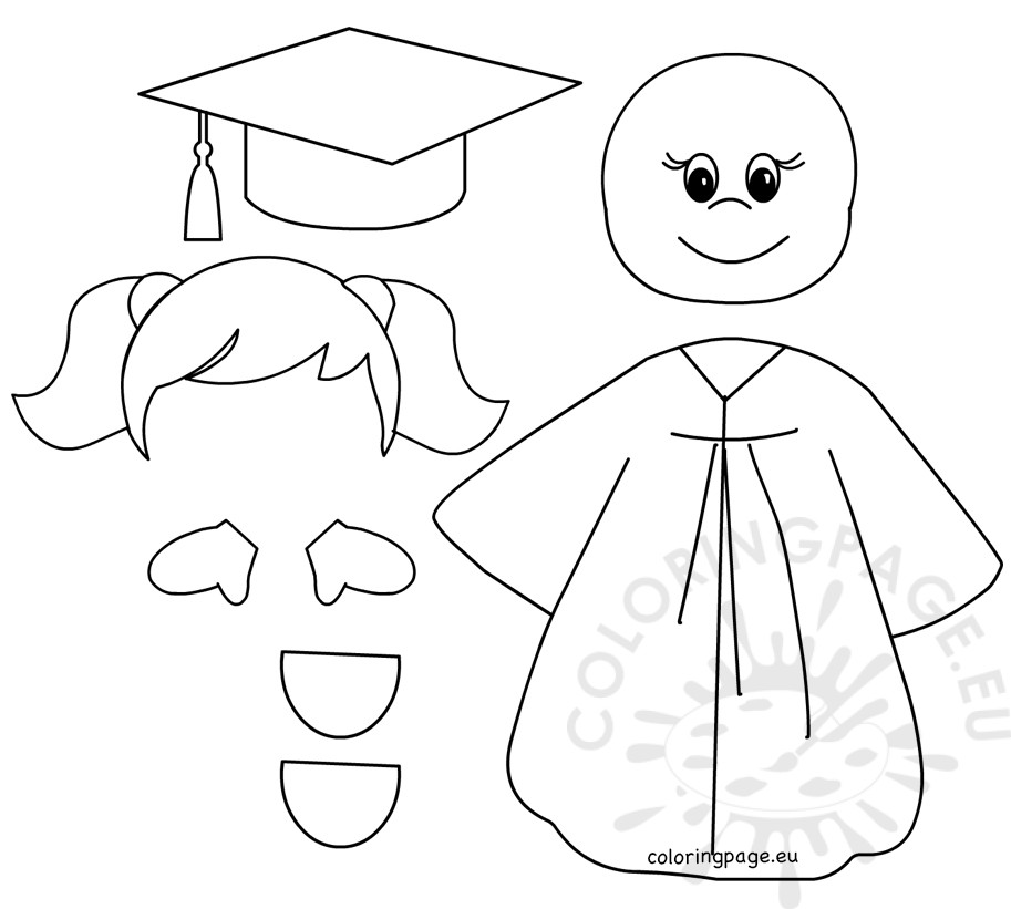 913x821 Preschool Graduation Coloring Pages