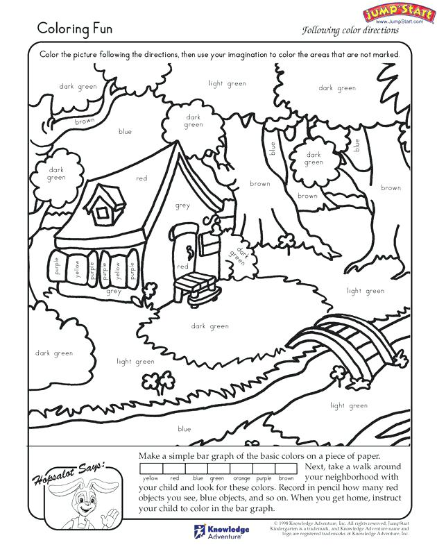 630x788 Coloring Worksheets For Kindergarten Color Bros Coloring Pages