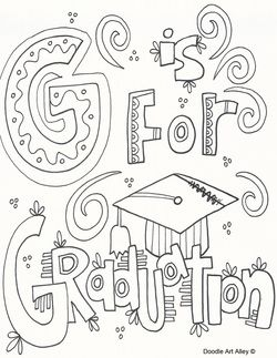250x323 Graduation Coloring Pages Stepping Stones Pre