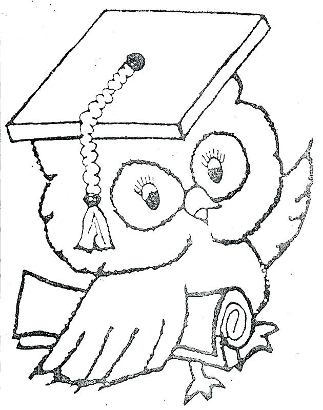 630x800 Graduation Coloring Pages