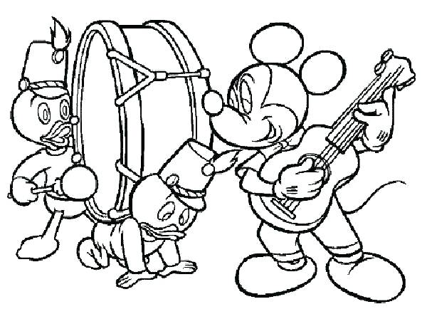 600x434 Music Coloring Pages Musical Instrument Coloring Pages Music