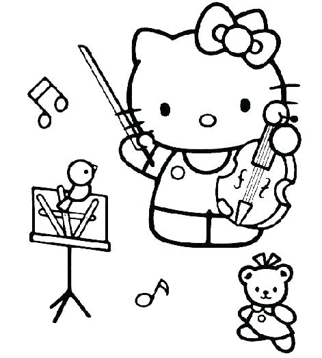 471x523 Music Coloring Pages
