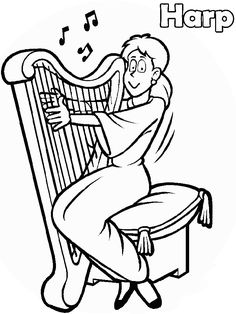 236x314 Free Music Coloring Pages Sheets For Kids