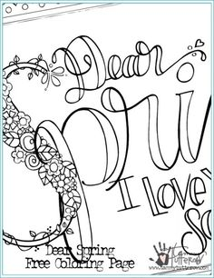 236x306 Free Coloring Page Kindness Is Everything Adult Coloring
