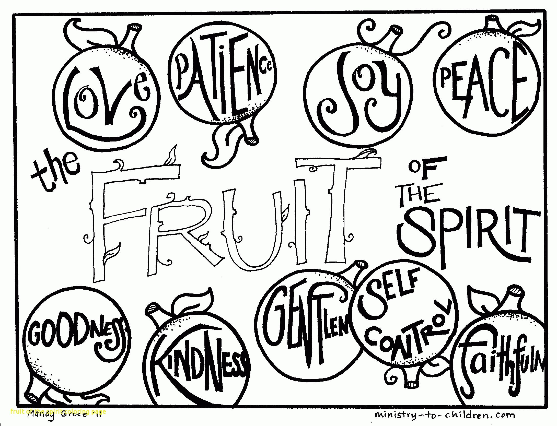 2180x1668 Fruit Of The Spirit Coloring Page Beautiful Fruit The Spirit