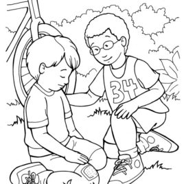 268x268 Fruit Of The Spirit Coloring Pages